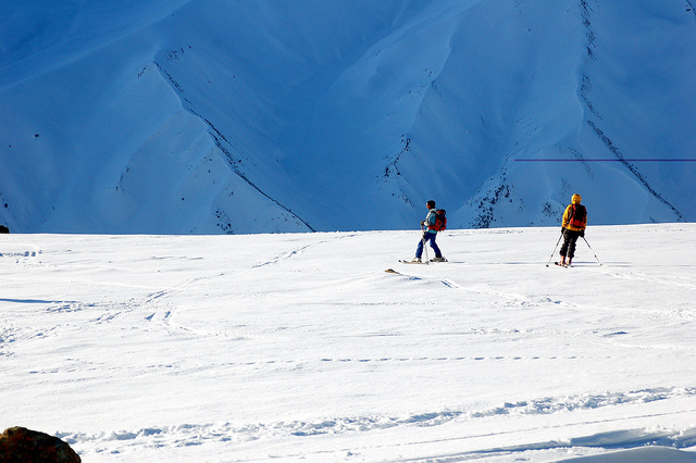 kashmir ski mountaineering